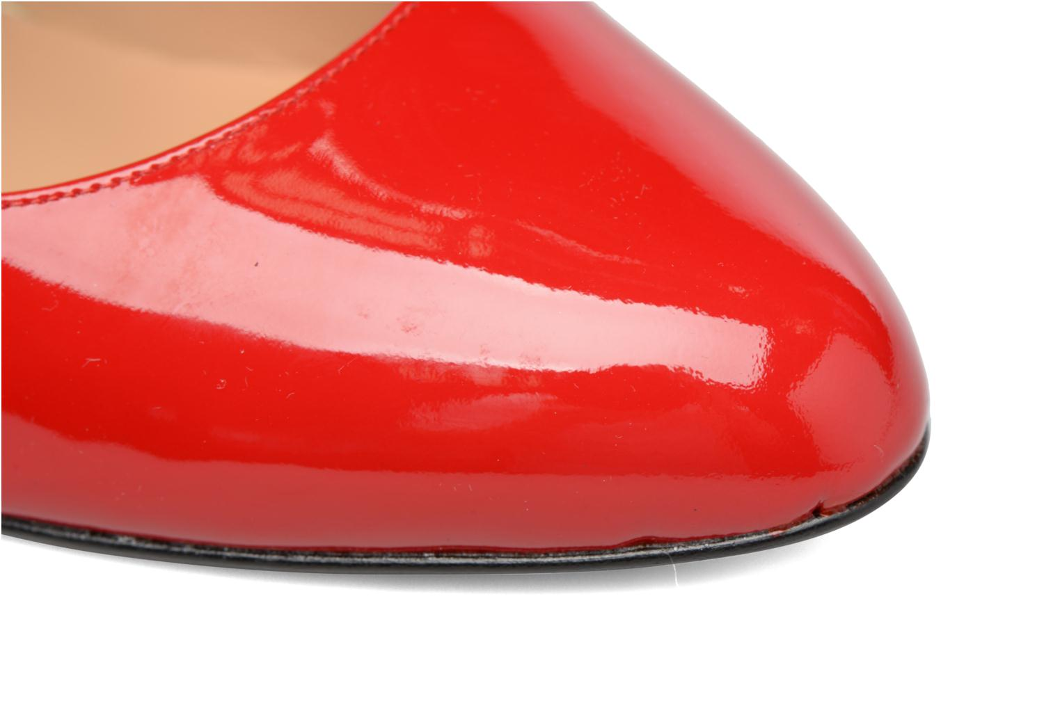 Shoe Officer #3 Vernis Rouge
